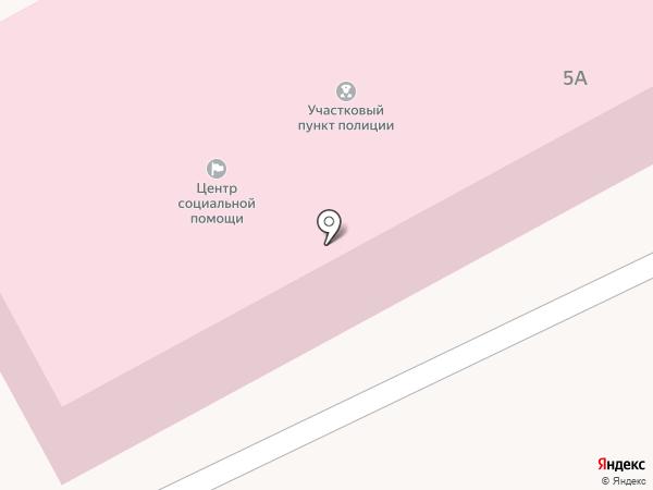 Березовский на карте Вознесенки