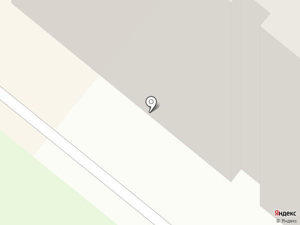 УЮТ на карте Сосновоборска