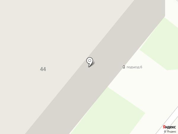 Шарландия на карте Сосновоборска