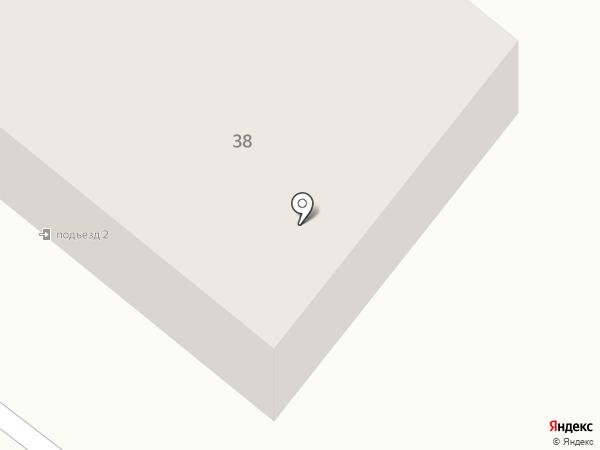 Азимут на карте Сосновоборска