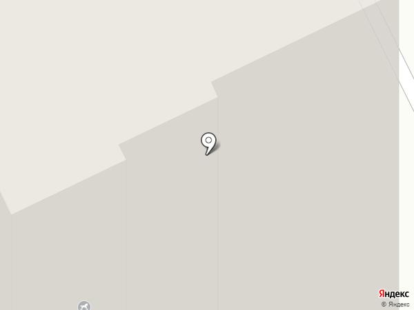 КрасЗападСибСтрой на карте Сосновоборска