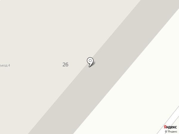 Магазин товаров для дома на карте Сосновоборска