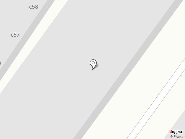 КрасКор на карте Сосновоборска