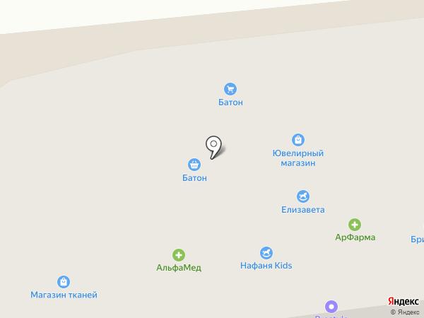 АльфаМед на карте Сосновоборска