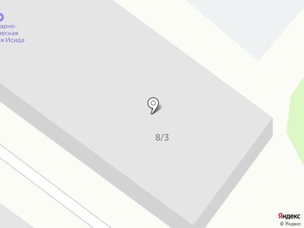 Шина 3D на карте Сосновоборска
