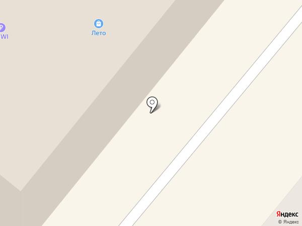 СитиЗайм на карте Сосновоборска