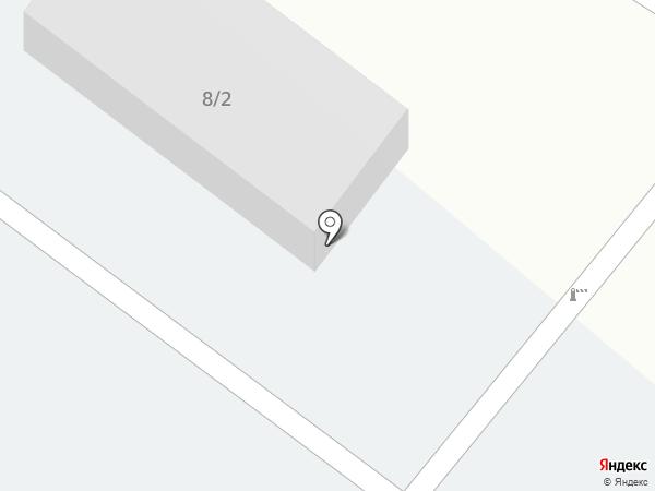Автостоянка на карте Сосновоборска
