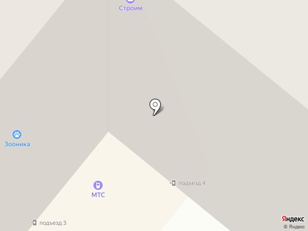 Скотч и Ластик на карте Сосновоборска