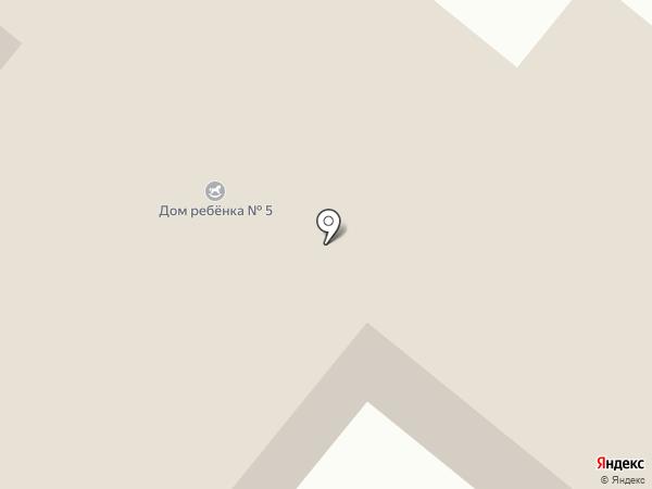 Красноярский краевой специализированный дом ребенка №5 на карте Сосновоборска