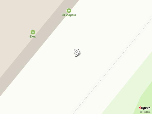 Штольц Брава на карте Сосновоборска