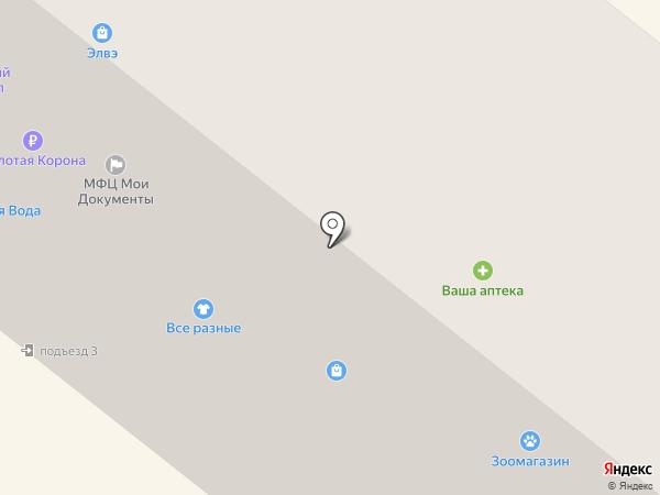 ЗАГС г. Сосновоборска на карте Сосновоборска