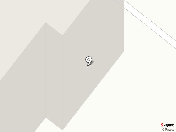 Автопорт на карте Сосновоборска