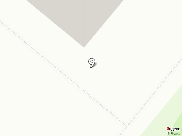 Барышня на карте Сосновоборска