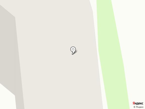 Космея на карте Сосновоборска