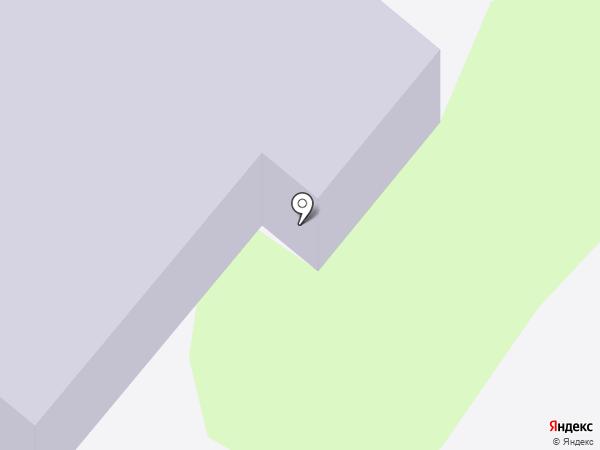 Детский сад №3 на карте Сосновоборска
