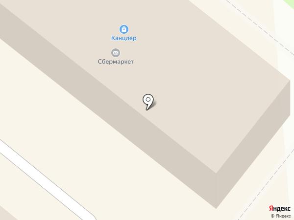 Жасмин на карте Сосновоборска
