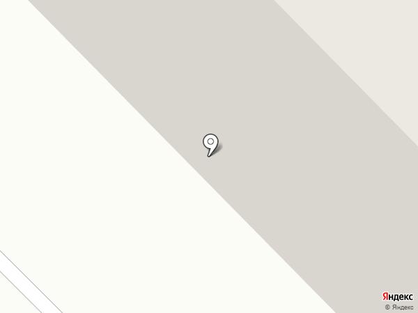 Янтарный на карте Сосновоборска
