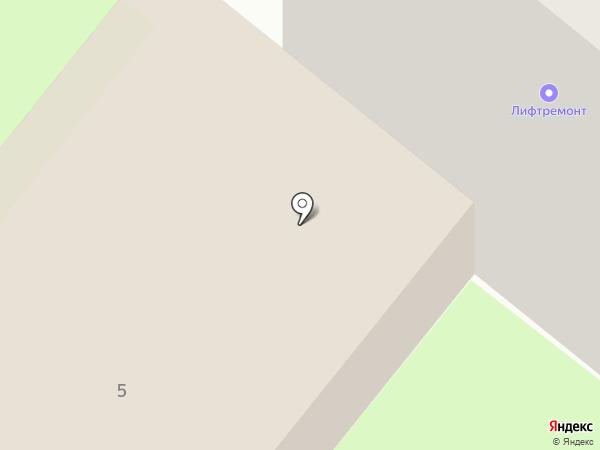 Ломбард Золотая подкова на карте Сосновоборска