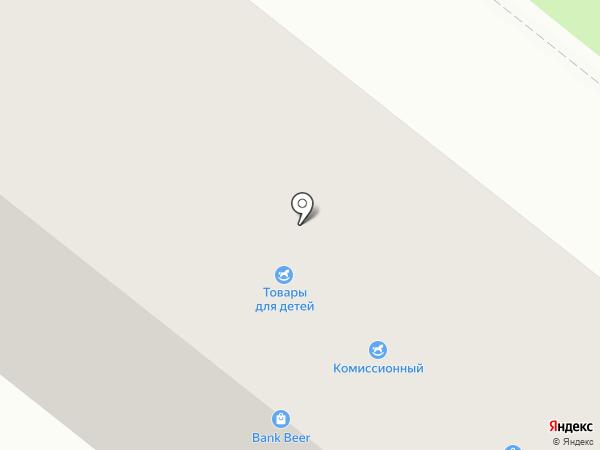 Bank Beer на карте Сосновоборска