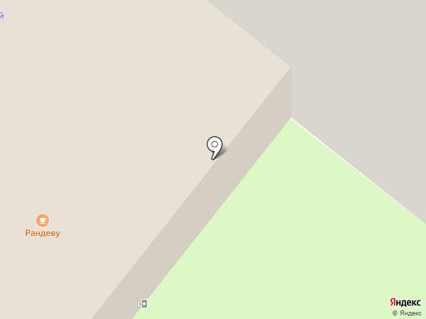 Рандеву на карте Сосновоборска