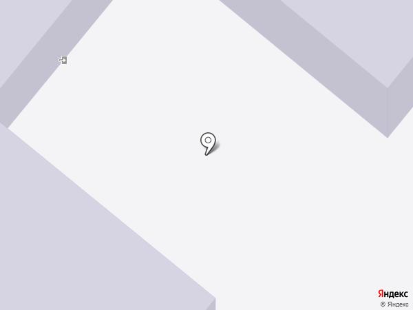 Детский сад №5 на карте Сосновоборска
