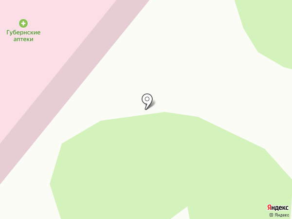 Городская поликлиника г. Сосновоборска на карте Сосновоборска