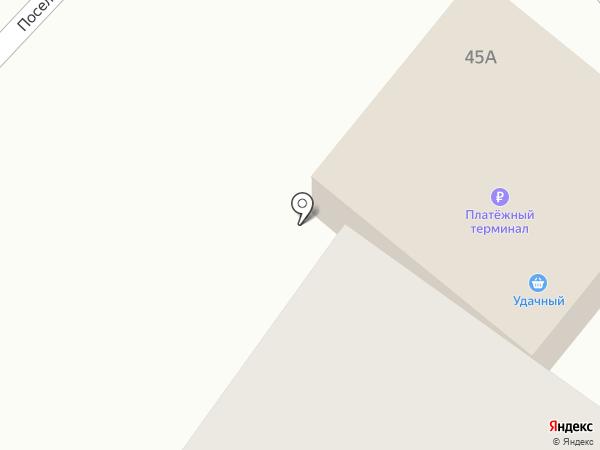 Удачный на карте Железногорска
