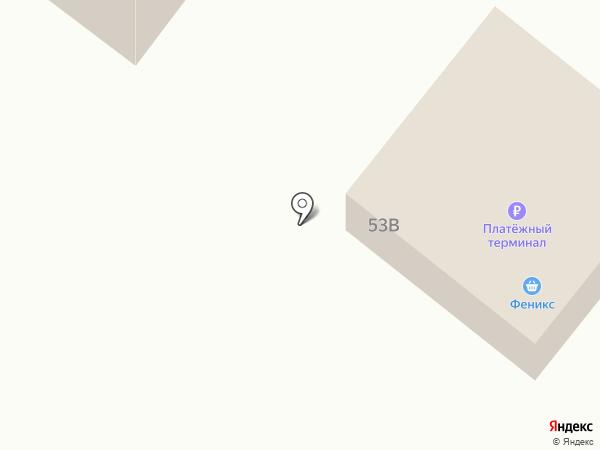 Феникс на карте Железногорска