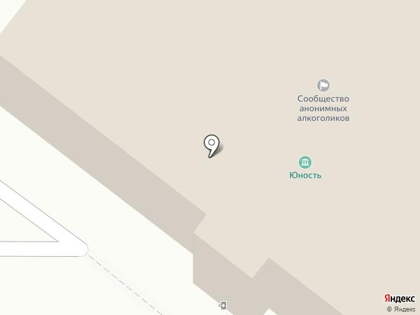 Юность на карте Железногорска