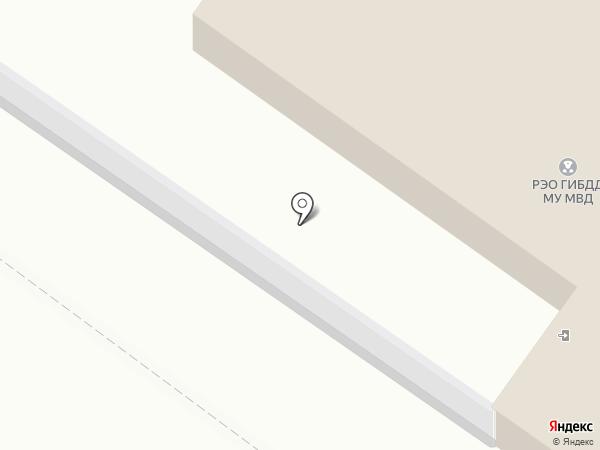 Участковый пункт полиции на карте Железногорска