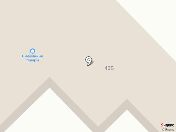 Магазин продуктов на карте Железногорска