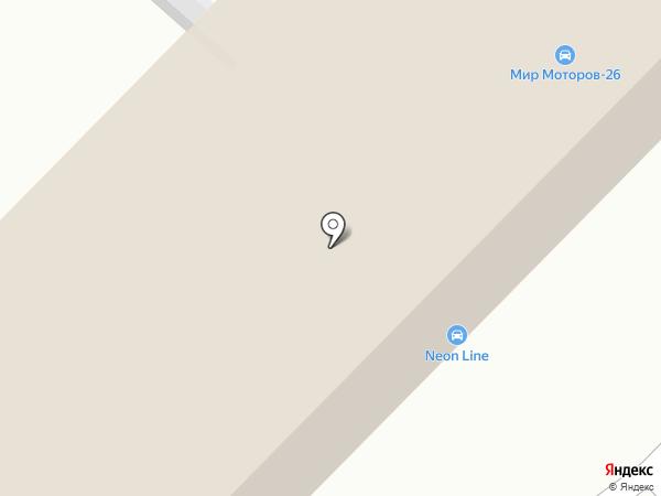 Караван на карте Железногорска