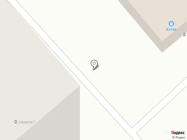 Катав на карте Железногорска