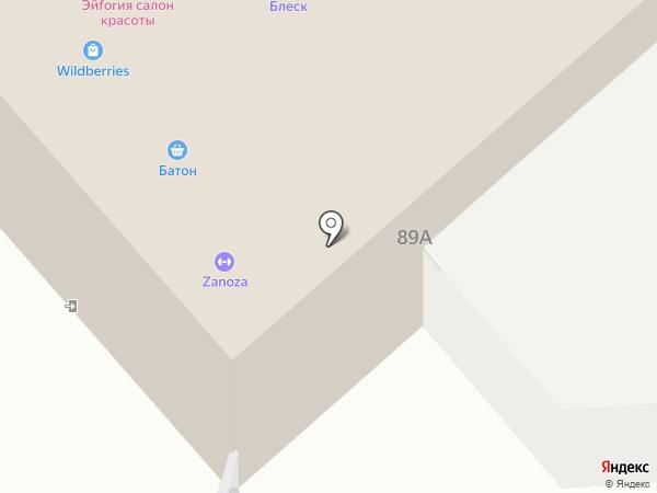 Штоф на карте Железногорска