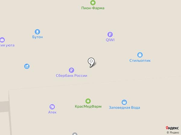 Банкомат, АЛЬФА-БАНК на карте Железногорска