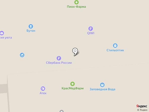 Бутон на карте Железногорска