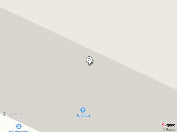 Стрекоза на карте Железногорска