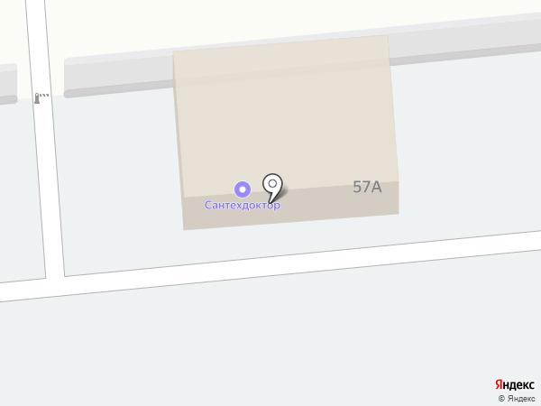 Автостоянка на карте Железногорска