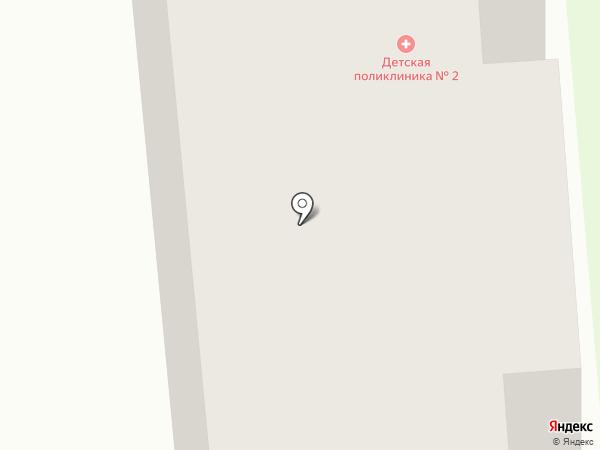 Детская поликлиника №2 на карте Железногорска