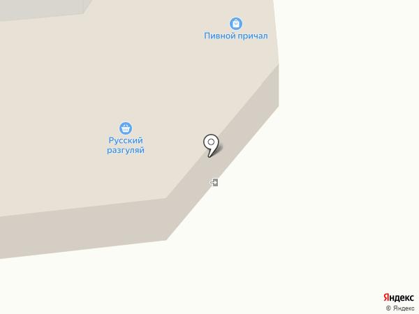 Перекресток на карте Железногорска