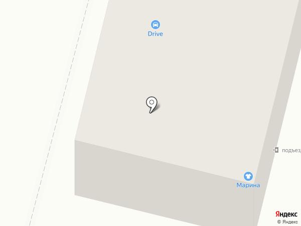 Drive на карте Железногорска