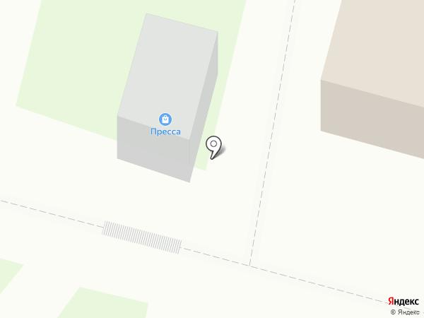 Розпечать на карте Железногорска
