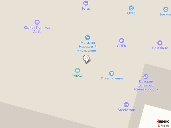 ПромАльпМонтаж на карте Железногорска