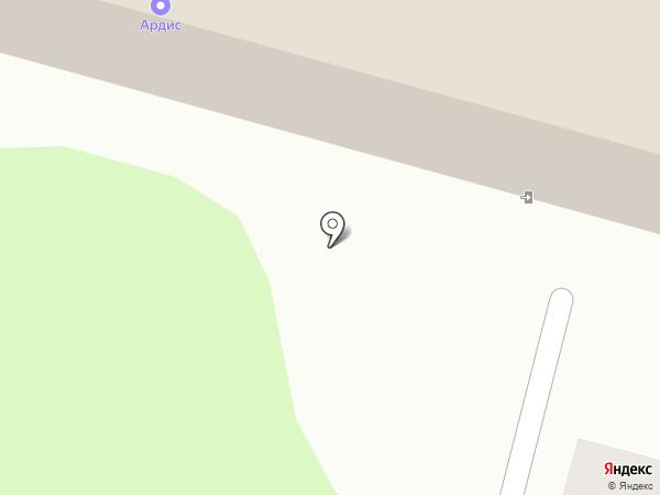 Ардис на карте Железногорска