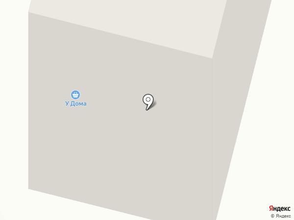 У Дома на карте Железногорска