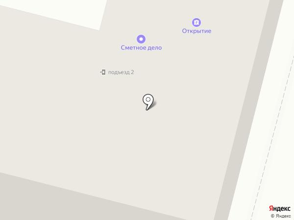 Орион на карте Железногорска