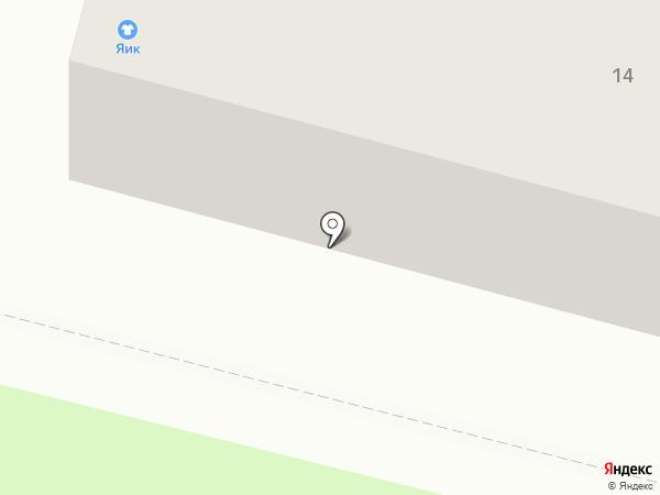 Яик на карте Железногорска
