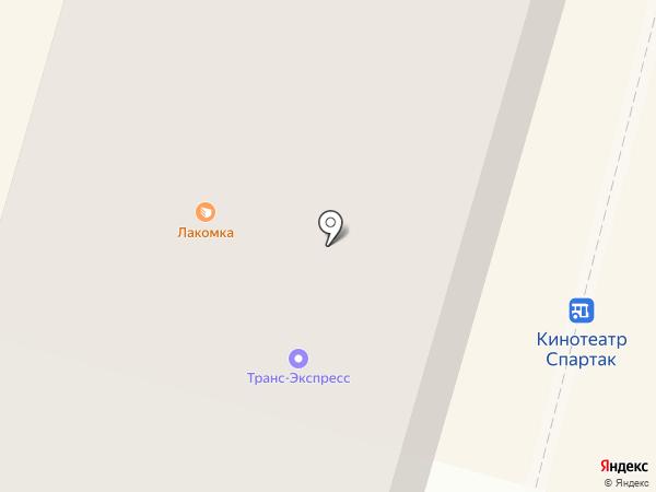 Палитра на карте Железногорска