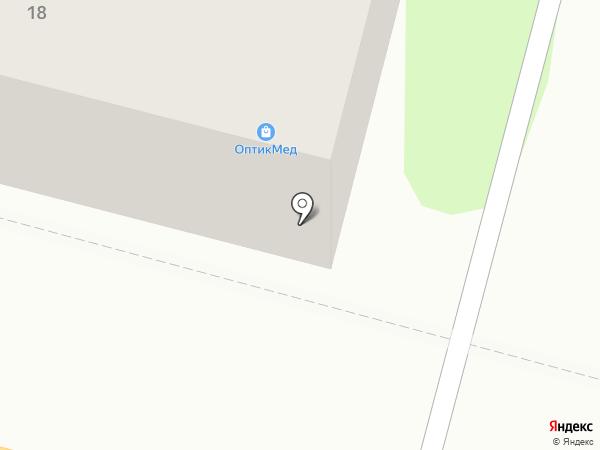 ОптикМед на карте Железногорска