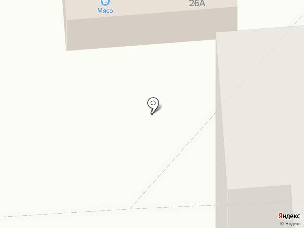 Любава на карте Железногорска